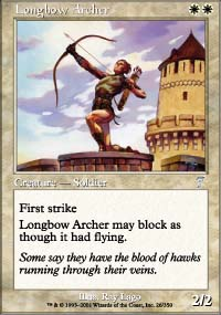 Longbow Archer - 7th Edition