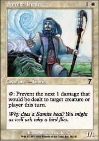 Samite Healer - 7th Edition