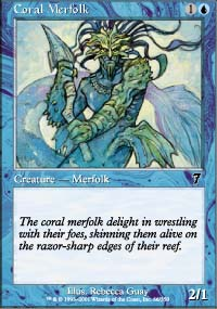 Coral Merfolk - 7th Edition