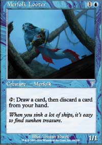 Merfolk Looter - 7th Edition