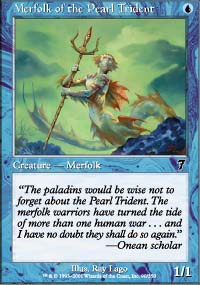 Merfolk of the Pearl Trident - 7th Edition