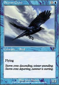 Storm Crow - 7th Edition