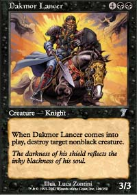 Dakmor Lancer - 7th Edition