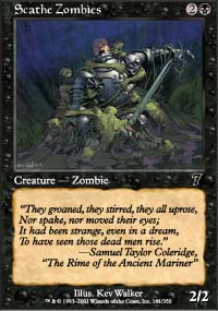 Scathe Zombies - 7th Edition