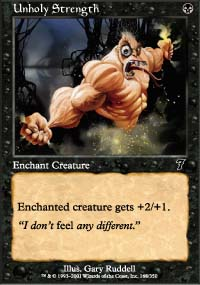 Unholy Strength - 7th Edition