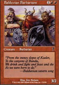 Balduvian Barbarians - 7th Edition