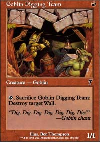 Goblin Digging Team - 7th Edition