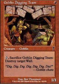 Goblin Digging Team - 7th Edition