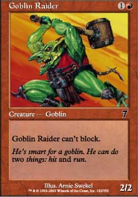 Goblin Raider - 7th Edition