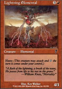 Lightning Elemental - 7th Edition
