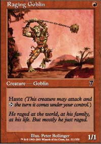 Raging Goblin - 7th Edition