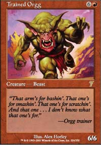 Trained Orgg - 7th Edition