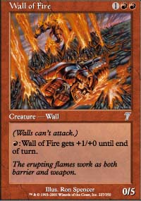 Wall of Fire - 7th Edition