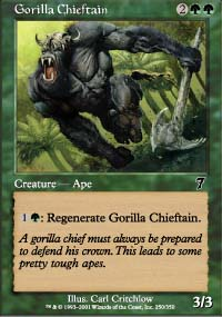 Gorilla Chieftain - 7th Edition