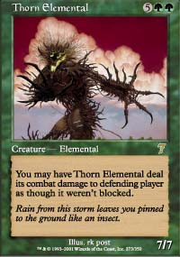 Thorn Elemental - 7th Edition