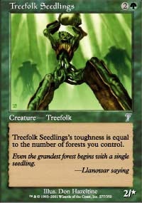 Treefolk Seedlings - 7th Edition