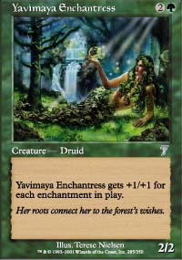 Yavimaya Enchantress - 7th Edition