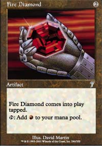Fire Diamond - 7th Edition