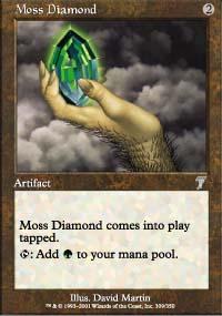 Moss Diamond - 7th Edition