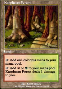Karplusan Forest - 7th Edition