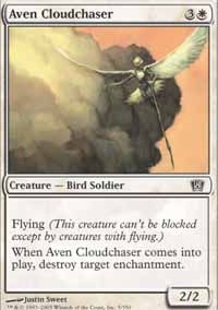 Aven Cloudchaser - 8th Edition