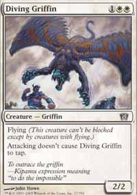 Diving Griffin - 8th Edition
