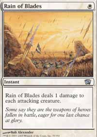 Rain of Blades - 8th Edition