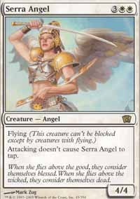 Serra Angel - 8th Edition