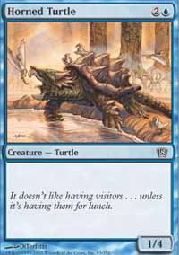 Horned Turtle - 8th Edition