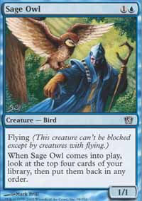 Sage Owl - 8th Edition