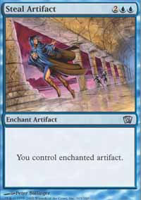 Steal Artifact - 8th Edition
