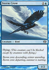 Storm Crow - 8th Edition