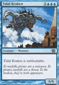 Tidal Kraken - 8th Edition