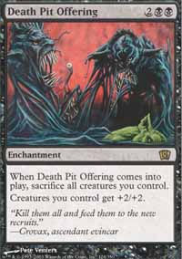 Death Pit Offering - 8th Edition