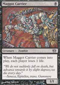 Maggot Carrier - 8th Edition