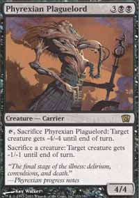 Phyrexian Plaguelord - 8th Edition