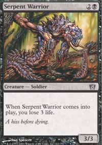 Serpent Warrior - 8th Edition