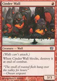 Cinder Wall - 8th Edition