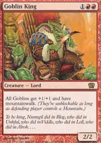 Goblin King - 8th Edition