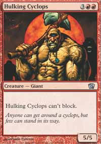 Hulking Cyclops - 8th Edition
