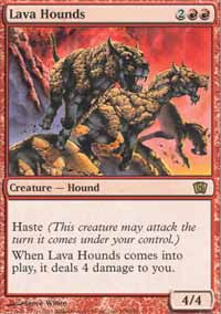 Lava Hounds - 8th Edition