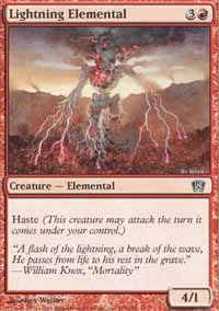 Lightning Elemental - 8th Edition