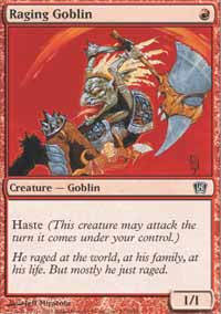 Raging Goblin - 8th Edition