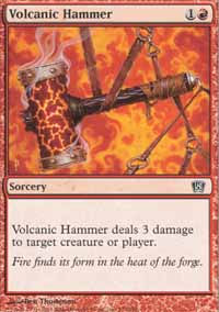 Volcanic Hammer - 8th Edition