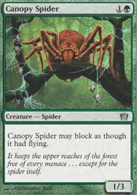 Canopy Spider - 8th Edition