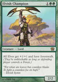 Elvish Champion - 8th Edition