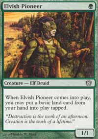 Elvish Pioneer - 8th Edition
