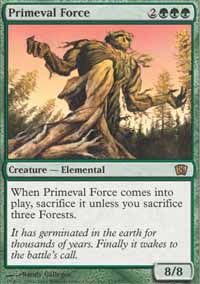 Primeval Force - 8th Edition