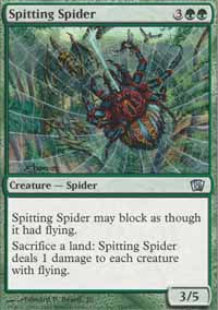 Spitting Spider - 8th Edition