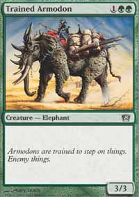 Trained Armodon - 8th Edition